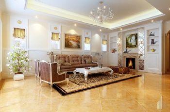 450平四居现代风装修案例欣赏现代客厅装修图片