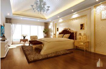 450平四居现代风装修案例欣赏现代卧室装修图片