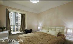 绿地香树花城现代风装修案例现代卧室装修图片