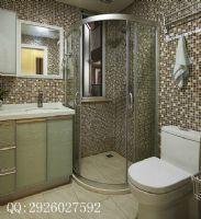 绿地香树花城现代风装修案例现代卫生间装修图片