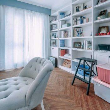 88平北欧两居装修案例欣赏欧式书房装修图片