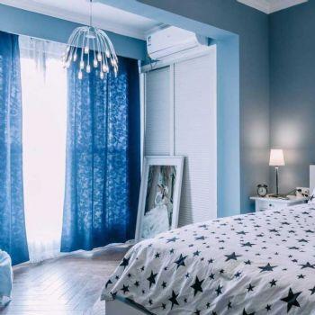 88平北欧两居装修案例欣赏欧式卧室装修图片