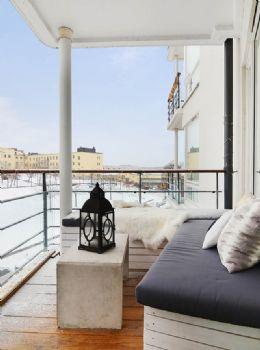 个性化吸引眼球的露台设计阳台装修图片