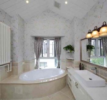 260平美式别墅风装修案例美式卫生间装修图片
