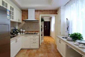 260平美式别墅风装修案例美式厨房装修图片