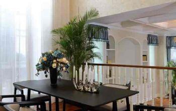 260平美式别墅风装修案例美式餐厅装修图片