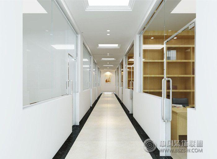 办公室走廊设计案例欣赏办公室装修图片