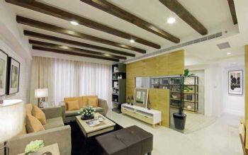 104平北欧大户型装修案例客厅装修图片