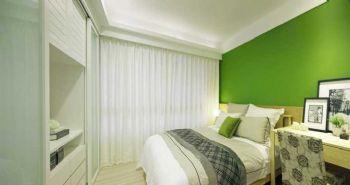 104平北欧大户型装修案例卧室装修图片