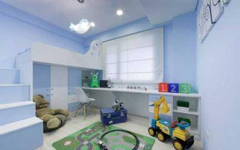 104平北欧大户型装修案例儿童房装修图片