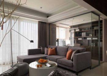 122平欧式风大户型装修效果图欧式客厅装修图片