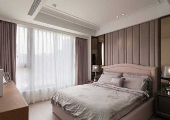 122平欧式风大户型装修效果图欧式卧室装修图片