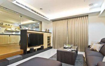 112平简约美式装修案例美式客厅装修图片