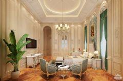 雅居乐香草上地中海风格案例地中海卧室装修图片