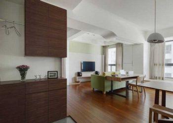 102平北欧风大户型装修案例欧式客厅装修图片