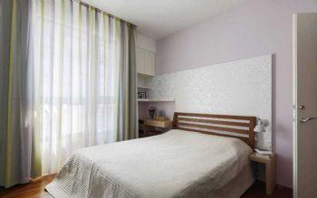 102平北欧风大户型装修案例欧式卧室装修图片