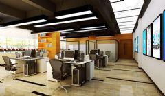 开放式办公室设计装修案例欣赏