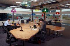 开放式办公室设计装修案例欣赏办公室装修图片