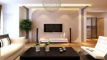 132平三居现代风装修设计图现代客厅装修图片