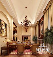 清溪玫瑰园欧式风格案例欧式客厅装修图片