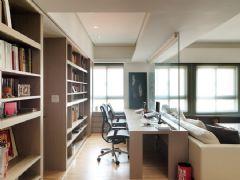 帝景海岸现代简约中户型装修案例现代简约卧室装修图片