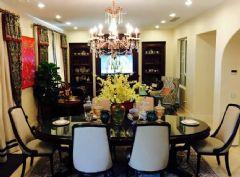 软装配饰纳帕溪谷精装楼王最前卫的设计美式风格美式餐厅装修图片