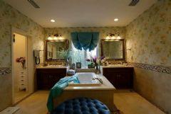 软装配饰纳帕溪谷精装楼王最前卫的设计美式风格美式卫生间装修图片