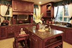 软装配饰纳帕溪谷精装楼王最前卫的设计美式风格美式厨房装修图片
