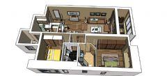 成都尚层装饰别墅装修设计师推荐成都ICC后现代风格案例欣赏现代风格阁楼装修图片