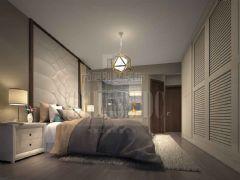 成都尚层装饰别墅装修设计师推荐成都ICC后现代风格案例欣赏现代卧室装修图片