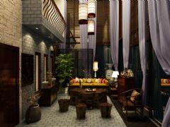 招商海德名门现代风白色别墅现代其它装修图片