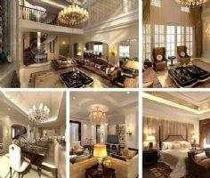 门庭赫奕中式风别墅装修设计中式其它装修图片