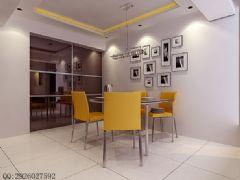 现场实拍中户型现代风装修图片现代餐厅装修图片