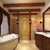 凯迪赫菲庄园别墅美式风格设计案美式卫生间装修图片