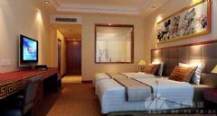 诺富特中式风格酒店效果图酒店装修图片