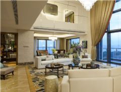 中海银海湾样板房酒店装修案例