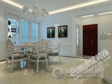 淄博华侨城欧式风大户型装修案例欣赏欧式客厅装修