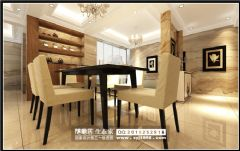 大江官邸混搭风设计方案混搭风格四居室