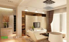 海顿公馆87现代风格两居室装修效果图现代风格小户型