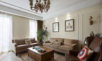 137平美式古典美宅欣赏