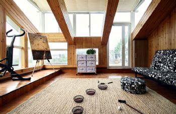2015最新阁楼装修效果图现代风格阁楼装修图片
