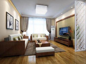 85平米现代两居设计案例