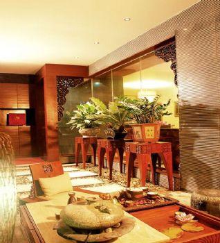 160平三居東南亞風裝修效果圖欣賞東南亞風格餐廳裝修圖片