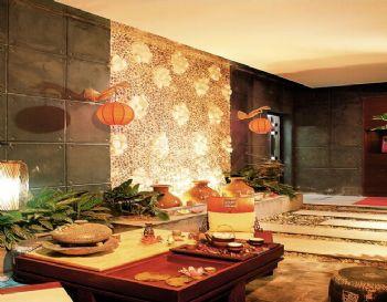 160平三居东南亚风装修效果图欣赏东南亚风格阳台装修图片