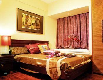 160平三居東南亞風裝修效果圖欣賞東南亞風格臥室裝修圖片