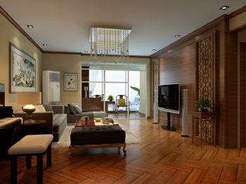 145平米中式风格三居设计图