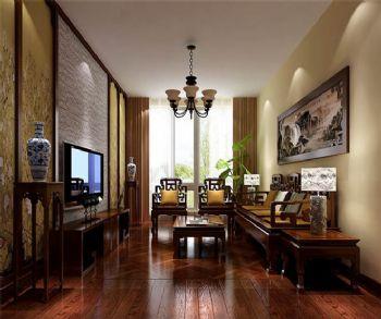 200平米现代中式四居设计图