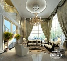 绿城玫瑰园别墅新古典主义风格装修案例