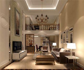 125平现代风格三居设计图