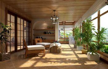 美式风格大户型装修案例美式风格阳台装修图片